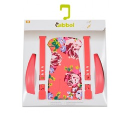 Qibbel Duo Qibbel Stylingset Luxe Achterzitje Blossom Coral