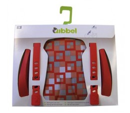 Qibbel Duo Qibbel Stylingset Luxe Voor Checked Red (arm/voet St. En Bekleding)