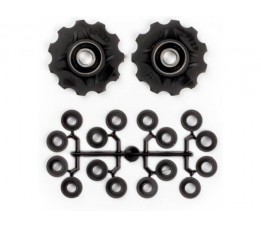 Elvedes Elvedes Derailleurwieltjes Set Incl. Spacers 11tands 7v-11v
